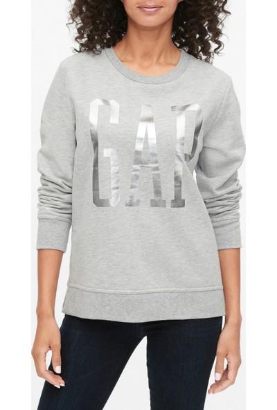 Gap Gap Logo Yuvarlak Yaka Sweatshirt