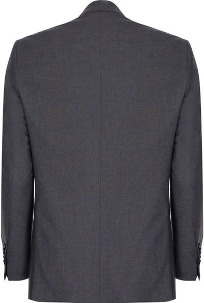 İgs Erkek Füme Barı / Geniş Kalıp Std Takım Elbise