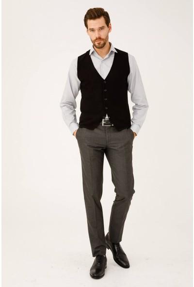 İgs Erkek Füme Regularfıt / Rahat Kalıp Std Pantolon