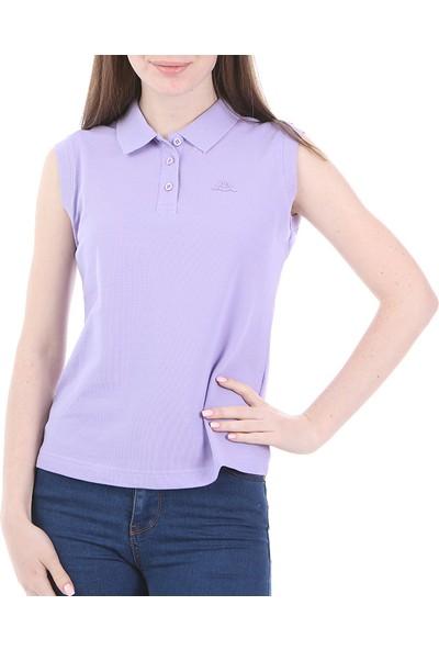 Rdk Kadın Kolsu Polo T-Shirt Wws Lila