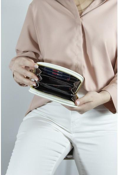 S&P Kadın Cüzdan Beyaz 649