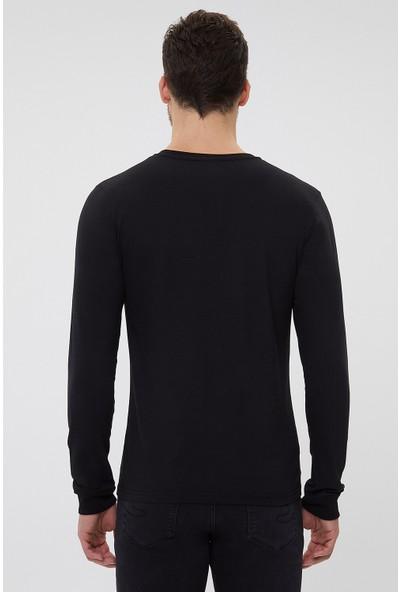 Lee Cooper Trıpp Erkek O Yaka Sweatshirt