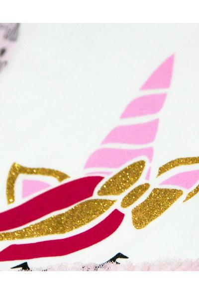 Minilay Bebek Tulum Takımı - Unicorn Desenli Tül Etekli Kız Bebek Tulumu 0000000310199
