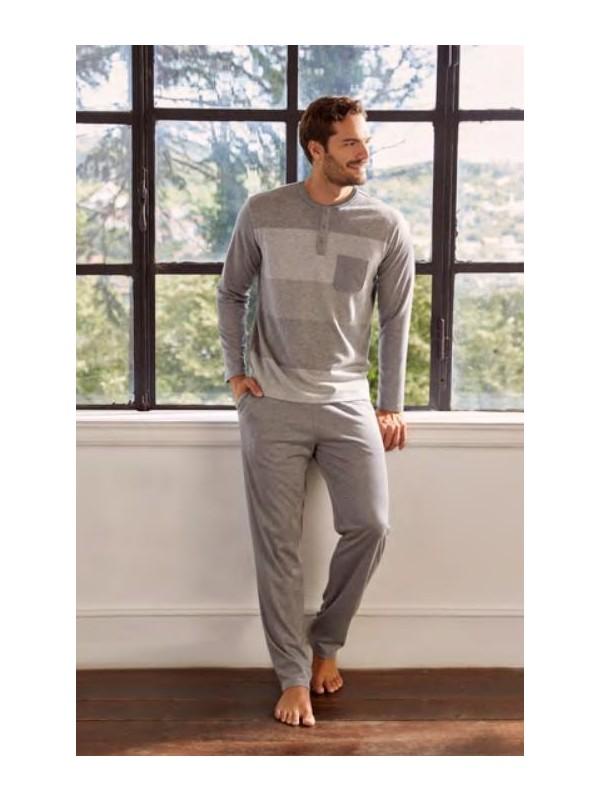 Eros ESE27110 Erkek Pijama Takımı Gri