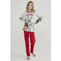 Penti Renkli Teen Looney 2li Pijama Takımı
