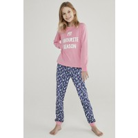 Penti Teen Snow Good 2li Pijama Takımı