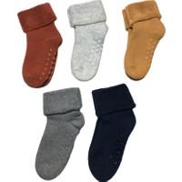Aktaş Socks 5'li Kaydırmaz Havlu Çocuk Çorabı