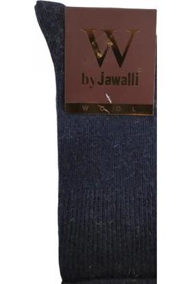 Jawalli Lastiksiz Yün Diyabet Çorabı