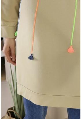 Eyka Butik Renkli Garnili Tunik