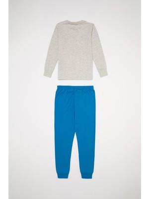 DeFacto Erkek Çocuk Kral Şakir Lisanslı Pijama Takımı S3223A620AU