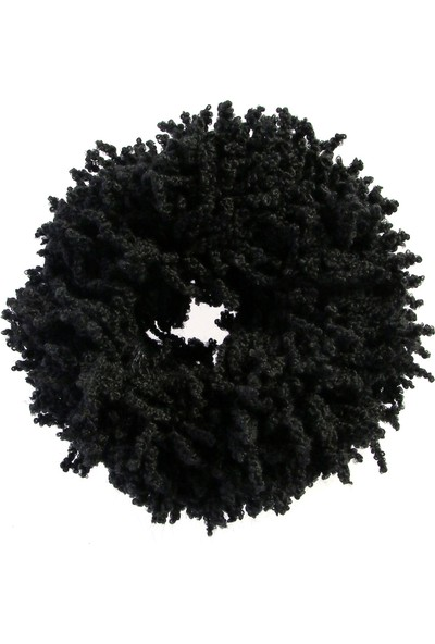 Mervin Şal Topuz Tokası Siyah