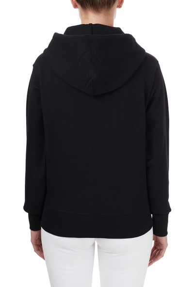 Kenzo Baskılı Kapüşonlu Kadın Sweatshirt Fa6 2SW871 4xa 99A