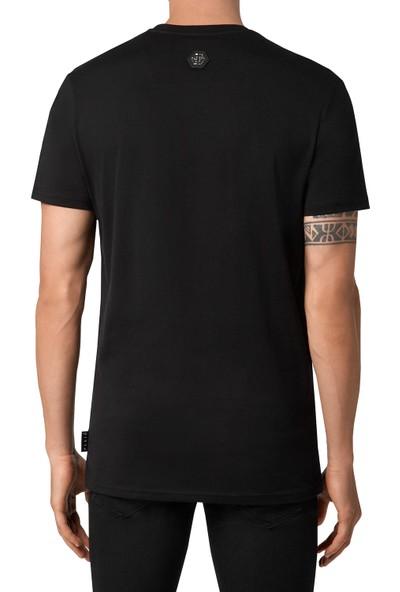 Philipp Plein Baskılı Erkek T-Shirt F20C MTK4594 PJY002N 02