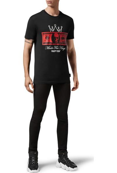 Philipp Plein Baskılı Erkek T-Shirt F20C MTK4607 PJY002N 02