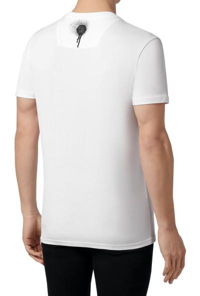Philipp Plein Baskılı Erkek T-Shirt F20C Mtk4593 Pjy002N 01