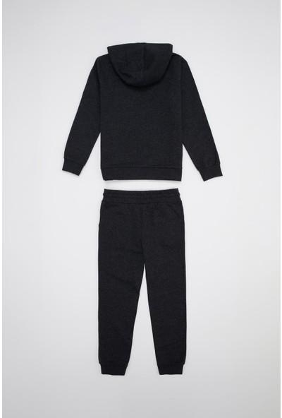 DeFacto Erkek Çocuk Baskılı Sweatshirt ve Eşofman Takım S3381A620AU