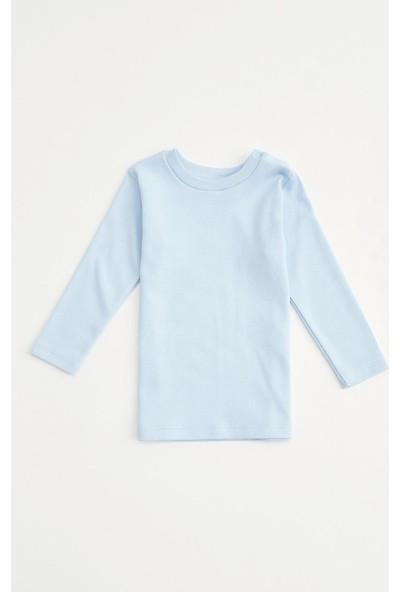 DeFacto Erkek Bebek Uzun Kol Basic Tişört T1183A220AU