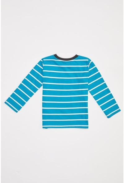 DeFacto Erkek Bebek Çizgili Tişört T2212A220AU