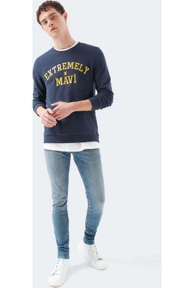 Leo Mavi Premium Mavi Gölgeli Jean Pantolon 0076230621
