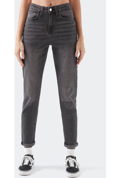 Star Gold Icon Gri Jean Pantolon 101077-30504
