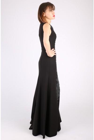 Günay Kadın Abiye Elbise TN7750 Askılı