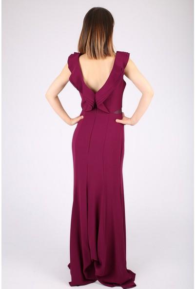 Günay Kadın Abiye Elbise TN7803 Askılı