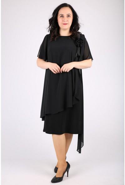 Günay Kadın Abiye Elbise SPL3081 Kısa
