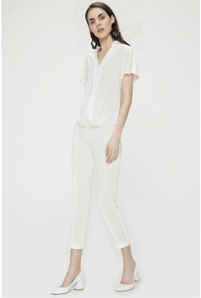 Jly Beyaz Pantolon