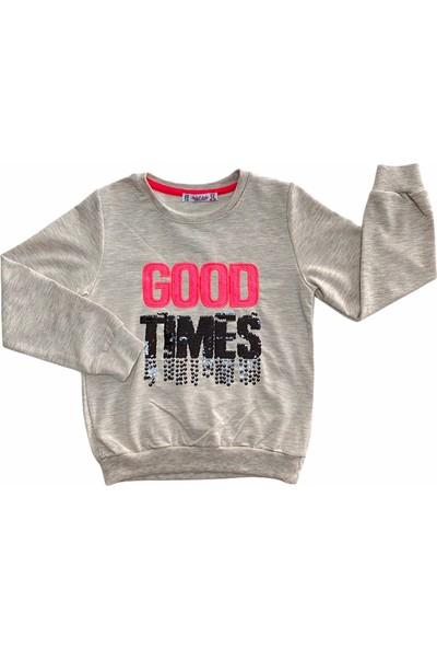 Isobel Kids Kız Çocuk Sweatshirt 4-8 Yaş