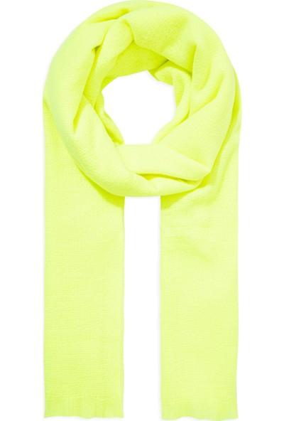 Mavi Kadın Neon Yeşil Atkı 197927-29752