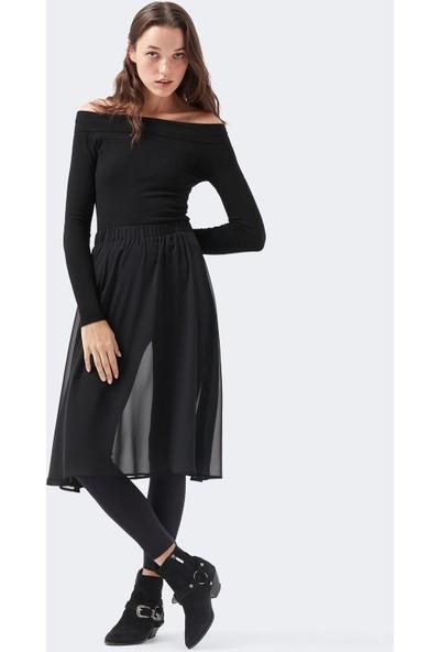 Mavi Kadın Icon Uzun Siyah Tül Etek 131094-900