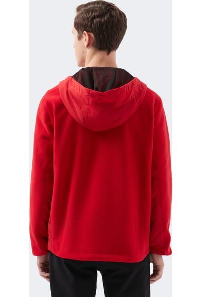 Mavi Erkek Kapüşonlu Kırmızı Ceket 010394-33203