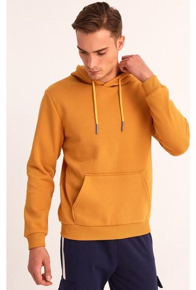 Fullamoda Kanguru Cepli Kapüşonlu Sweatshirt