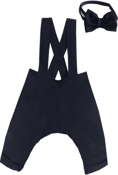 Shecco Babba Erkek Çocuk Askılı Harem Pantolon Takım