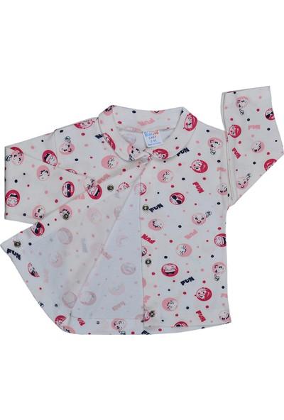 Bebeemm 6725 Fun Önü Çıtçıtlı Pijama Takımı