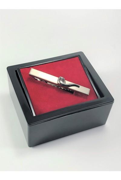 Pierroni Pipo Model Kutulu Kravat İğnesi