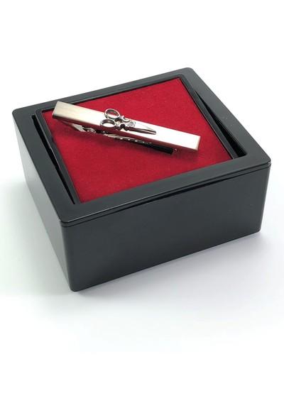 Pierroni Makas Model Kutulu Kravat İğnesi