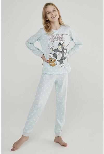 Penti Teen Blue Tom&jerry 2'li Pijama Takımı