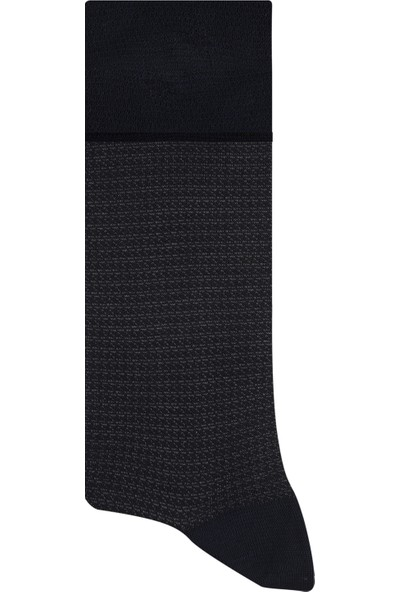 Esgue Bambu & Merserize Lacivert Erkek Çorap