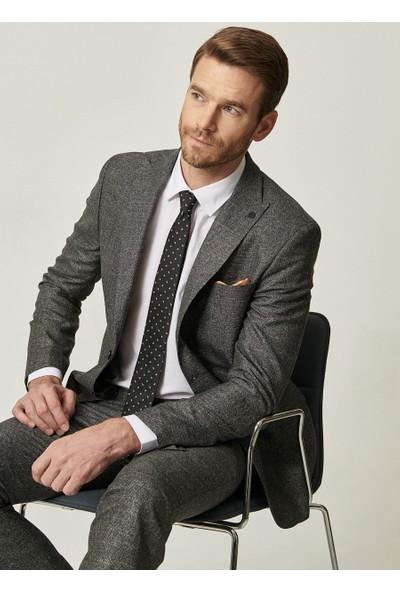 Altınyıldız Erkek Slim Fit Dar Kesim Desenli Su Geçirmez Nano Takım Elbise