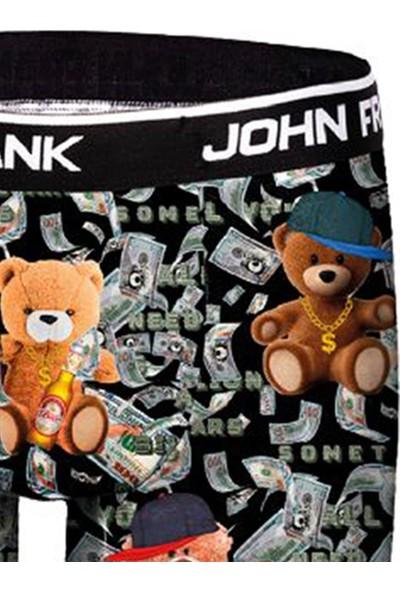 John Frank Dijital Erkek Boxer - Rich Teddy