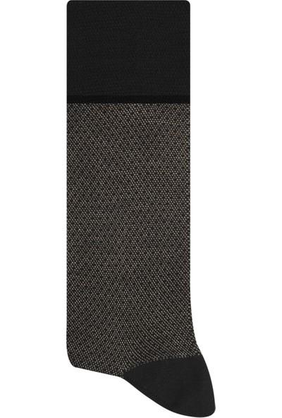 Esgue Bambu & Merserize Bej Erkek Çorap
