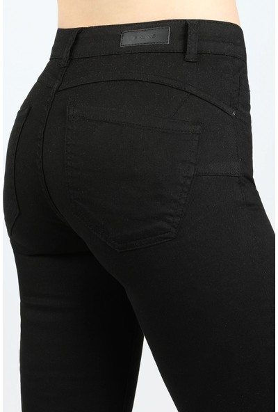 Balins Pensli Gabardin Pantolon Siyah