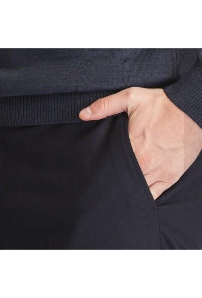 Hateko Dar Kesim Lacivert Kışlık Pantolon