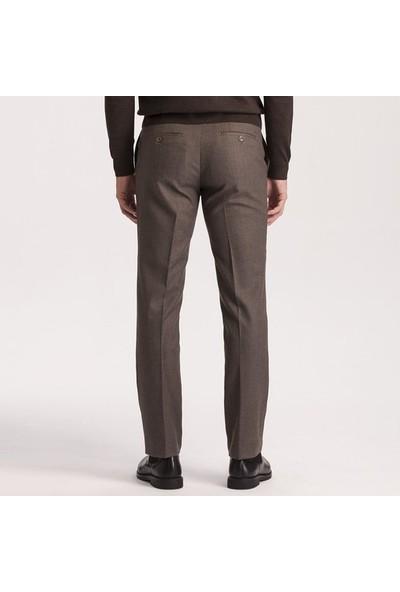 Hateko Dar Kesim Kahverengi Kışlık Pantolon