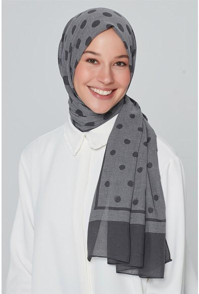 Armine Trend Polyester Şal 00Oa0444 Füme