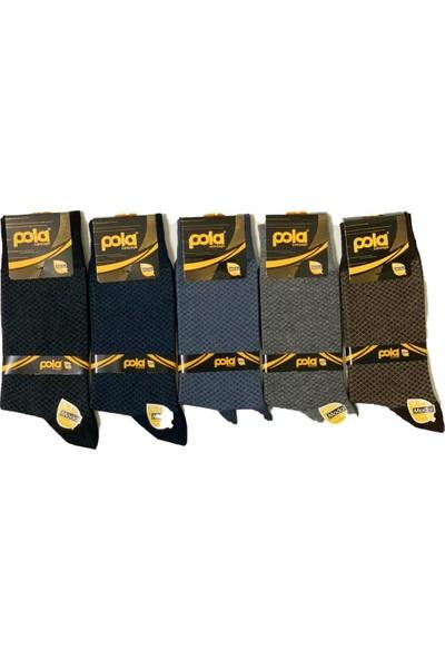 Pola Erkek Modal Çorap 12'li Cemre Model 1529