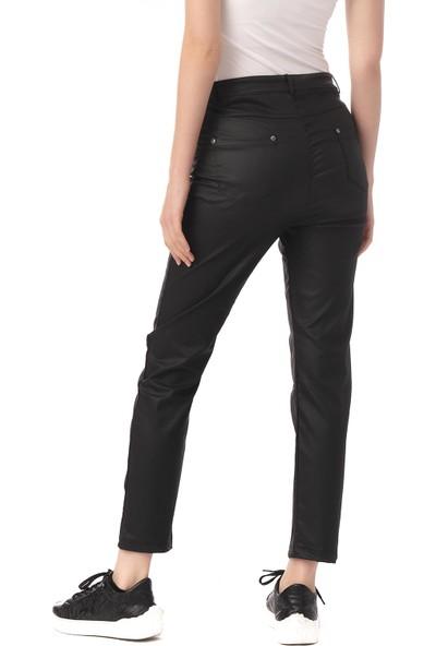 Cekmon Slim Kesim Düz Kadın Pantolon