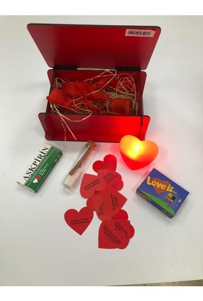 Bizim Süs Evi Aşk Bankası Seti Sevgiliye En Güzel Hediye