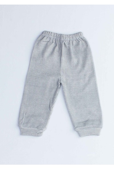 Modakids Gri Köpekli Erkek Bebek Pijama Takımı